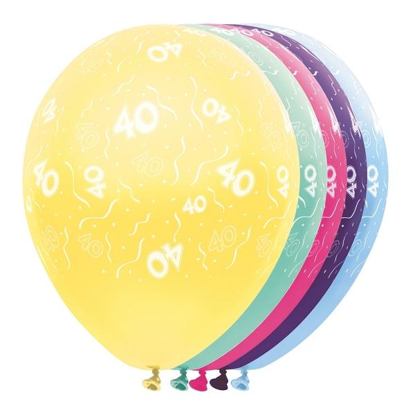 40 jaar ballonnen deco zonlichtvliegers - Kamerjongen jaar deco ...